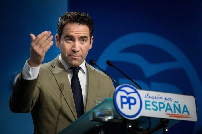 Secretario general del Partido Popular, Teodoro García Egea